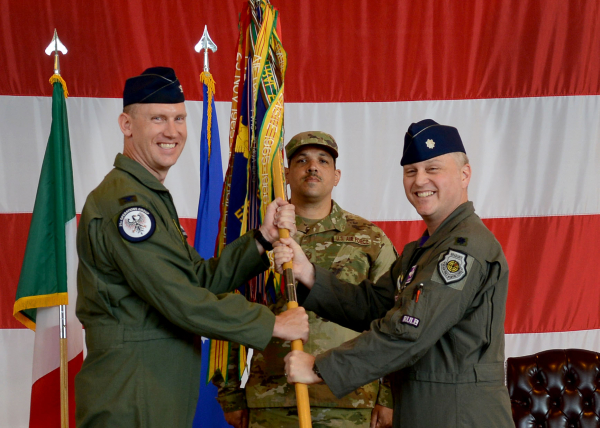 Change of Command - Lt. Col. BENJAMIN S. FREEBORN