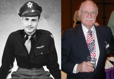 Charles D. Mohrle then and now